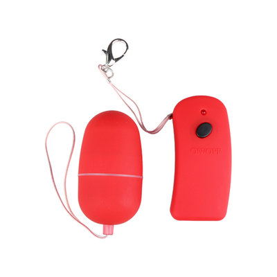 Red vibro bullet with remote control